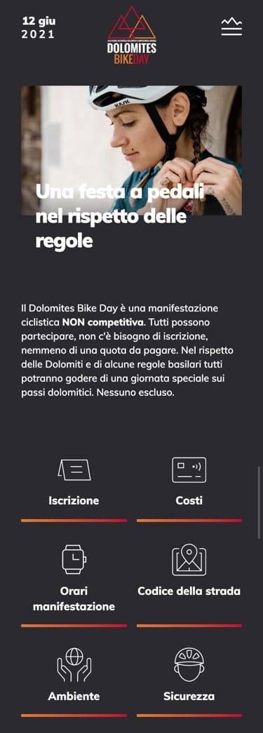 Mobile screen design dolomitesbikeday.it